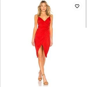 House of Harlow 1960 x Revolve Red Dress